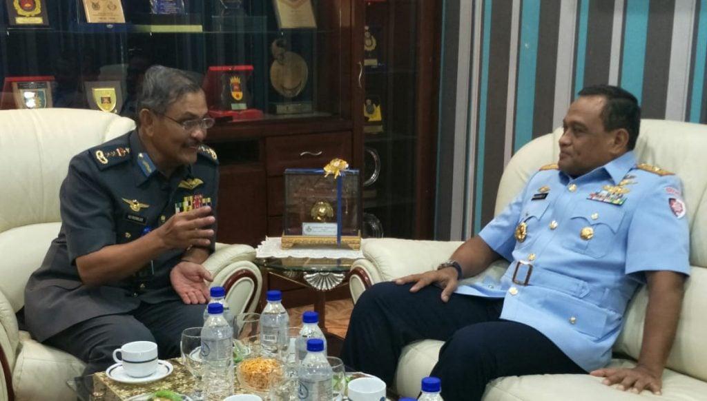 Penuhi Undangan Pangwilud 1 TUDM, Pangkoopsau I Berkunjung ke Kuala Lumpur