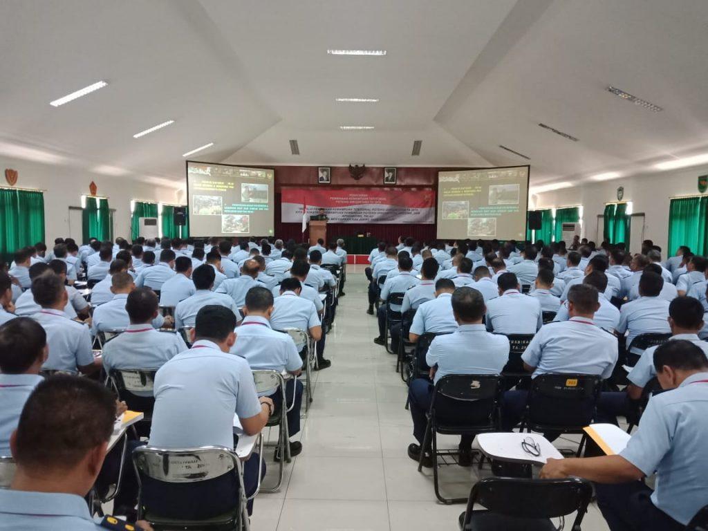 232 Personel TNI AU Ikuti Penataran Pembinaan Kemampuan Teritorial Potensi Dirgantara
