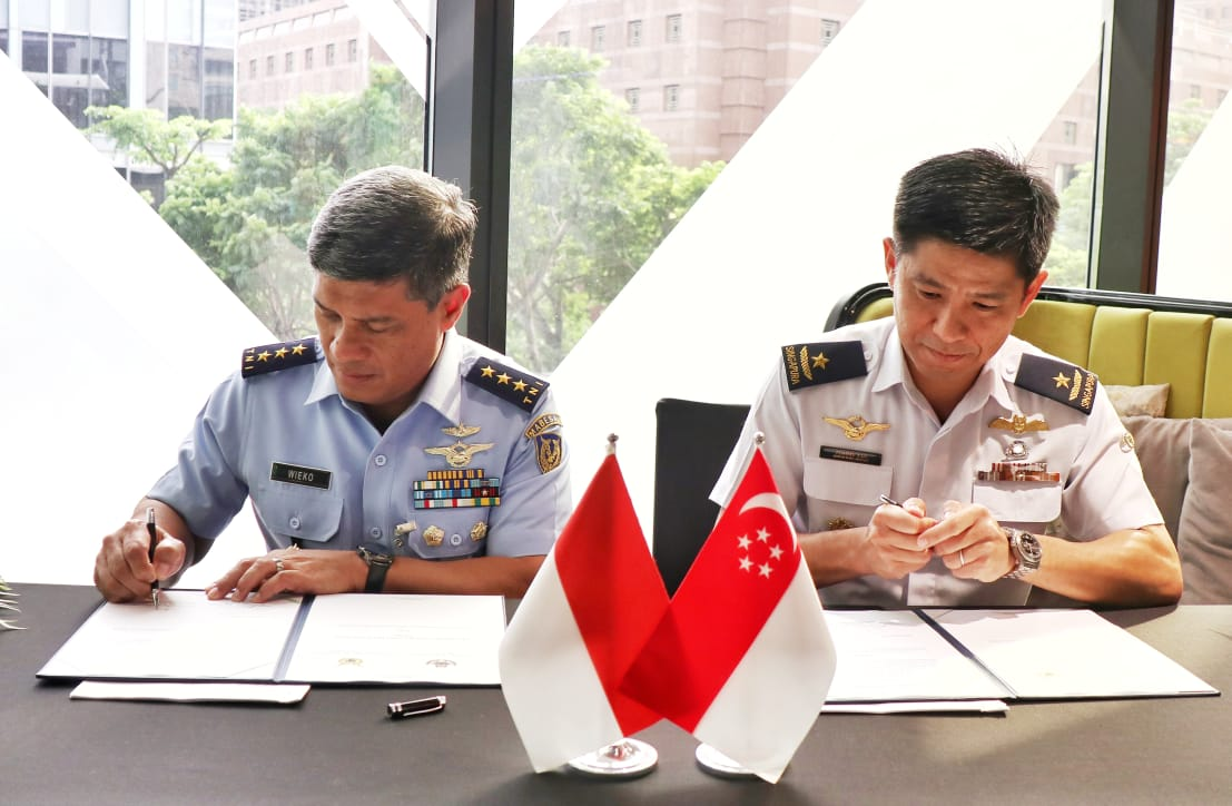 Tingkatkan Kemampuan Tempur, TNI AU & RSAF Gelar JFWG