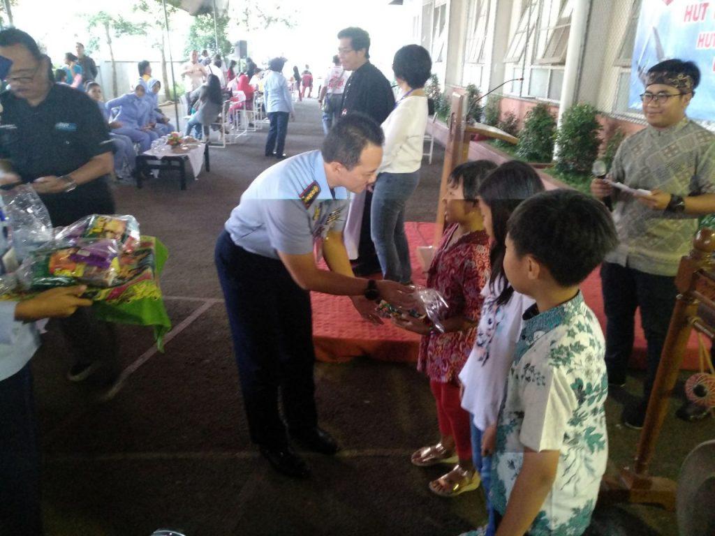 Lanud Husein Sastranegara Adakan Baksos, Ribuan Pasien Dapatkan Pelayanan Gratis