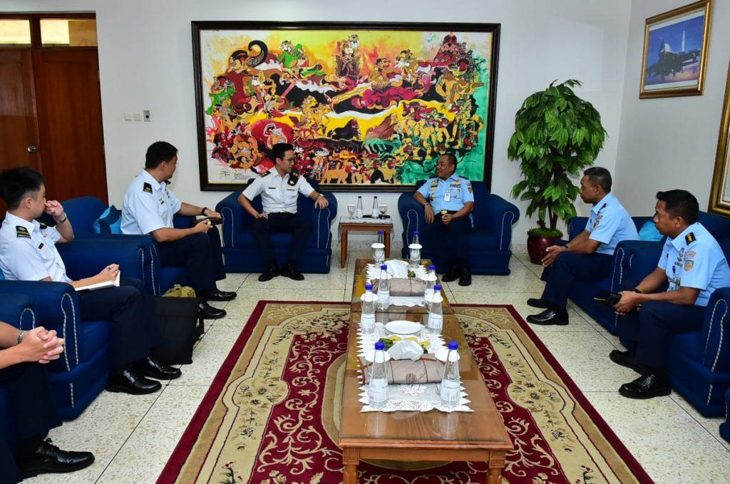 Pererat Persahabatan, Perwira RSAF Kunjungi Mabesau