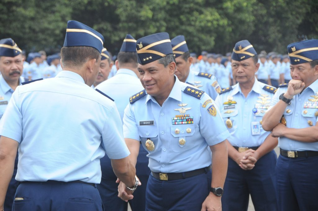 Wakasau Ingatkan Prajurit TNI AU untuk Jaga Netralitas