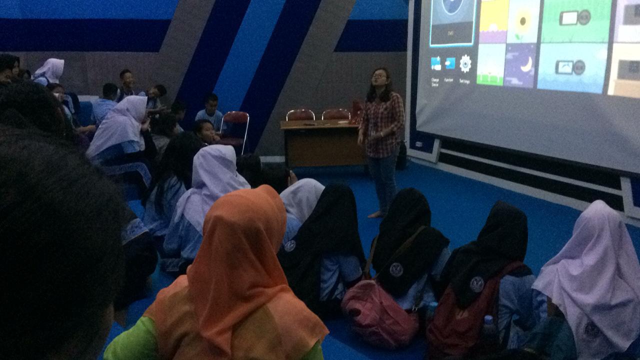 Belajar Sejarah, Siswa SMP Angkasa Kunjungi Museum Gumuk Pasir dan Museum Purbakala
