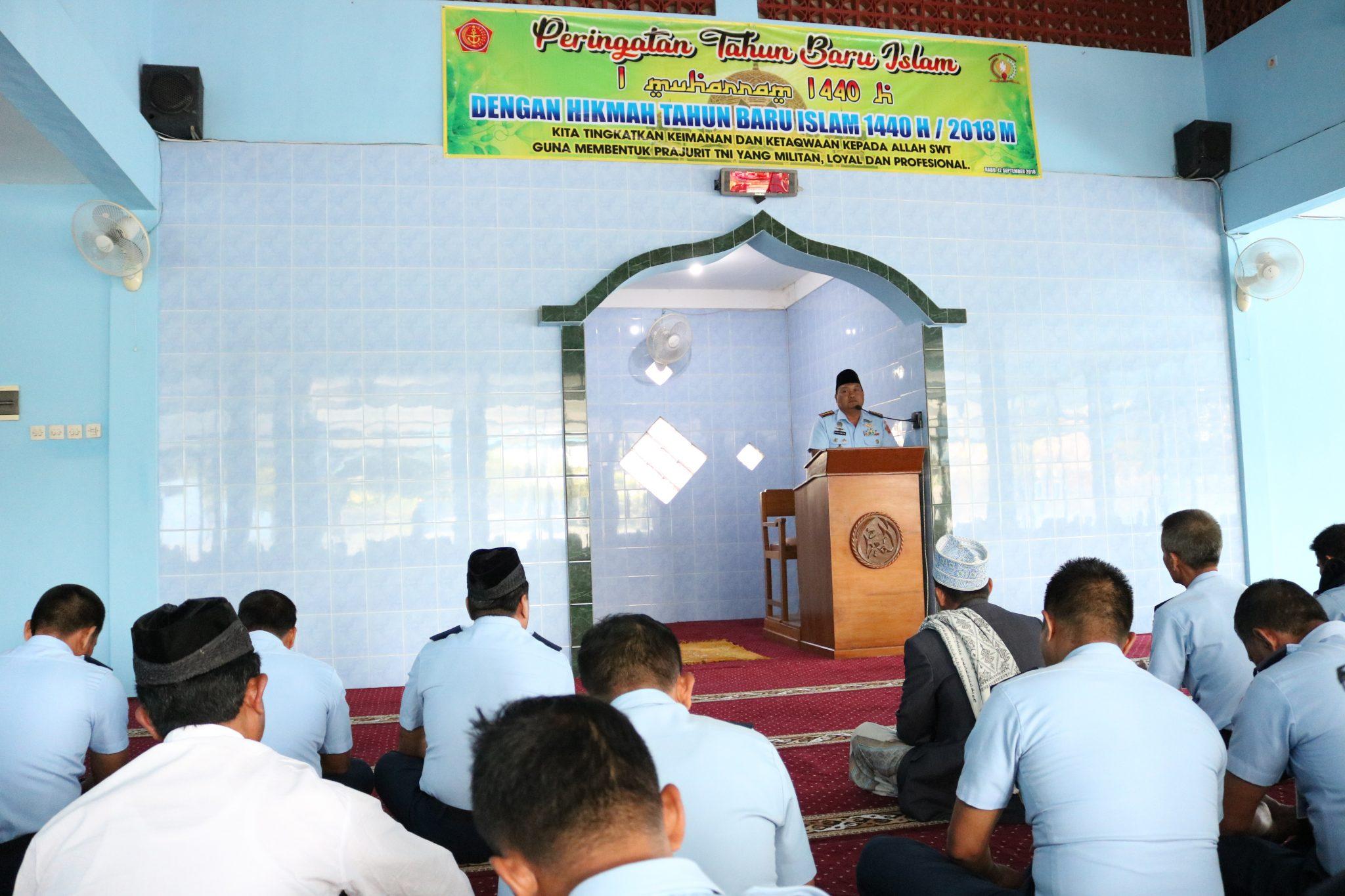 Peringatan Tahun Baru Islam 1440 Hijriyah di Pusdiklathanudnas Surabaya