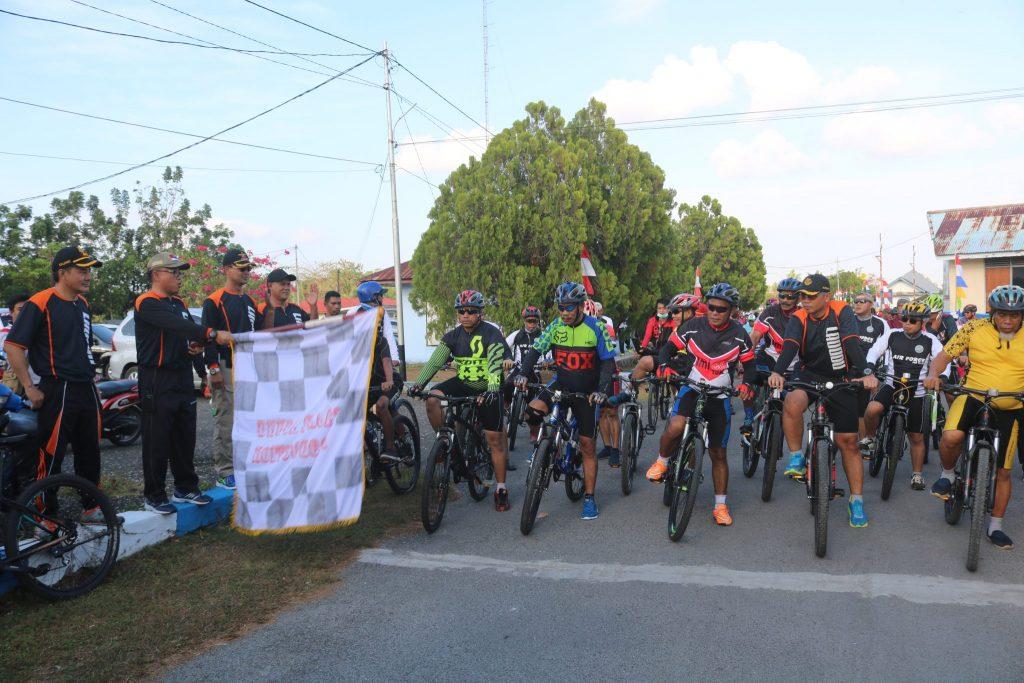 Kegiatan Fun Bike dan Fun Run di Lanud D. Dumatubun
