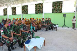 Tingkatkan Profesionalisme TNI untuk Rakyat Melalui Anjangsana