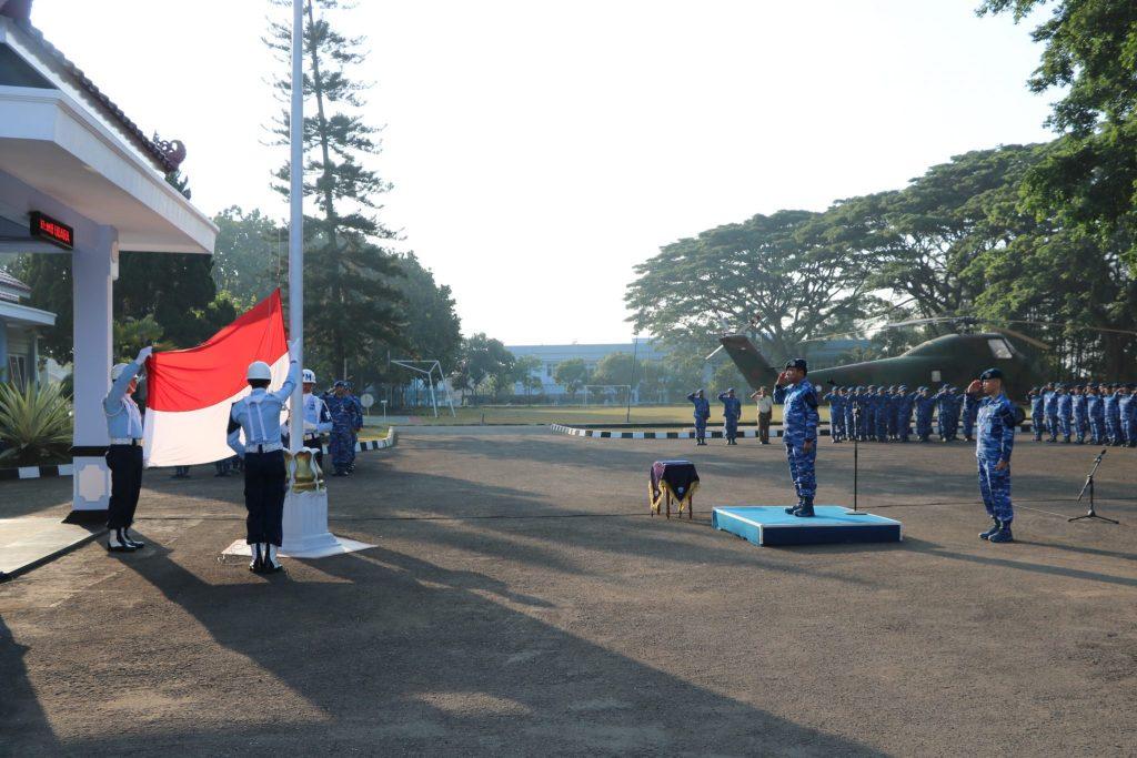 Upacara Bendera 17 September di Mako Koharmatau