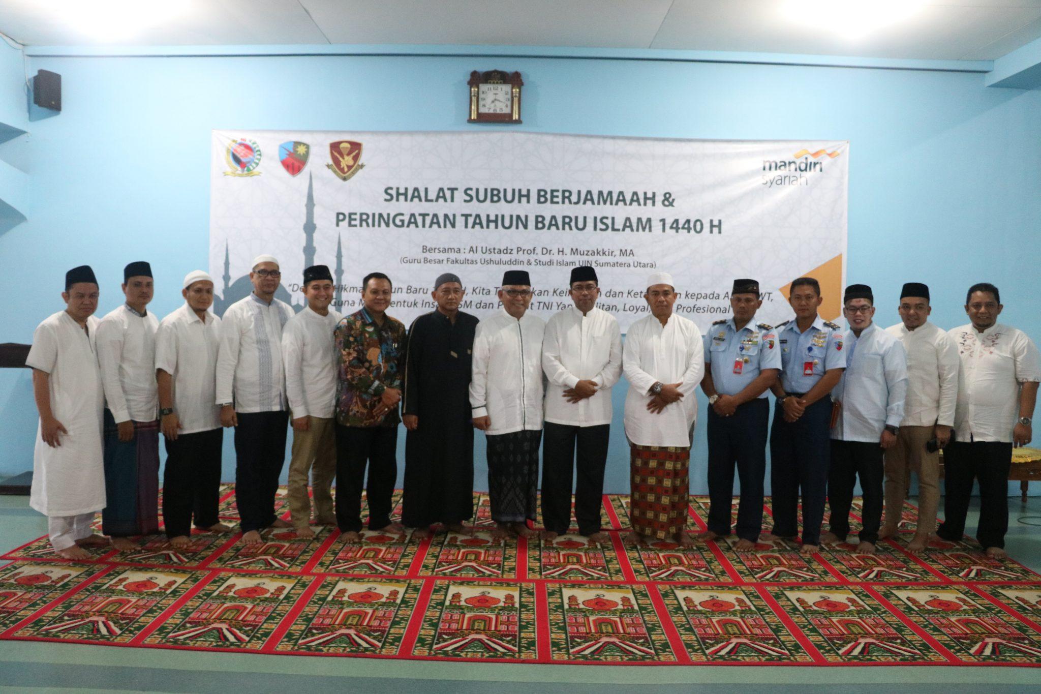 Peringatan Tahun Baru Islam 1 Muharram 1440 H/2018 M di Lanud Soewondo
