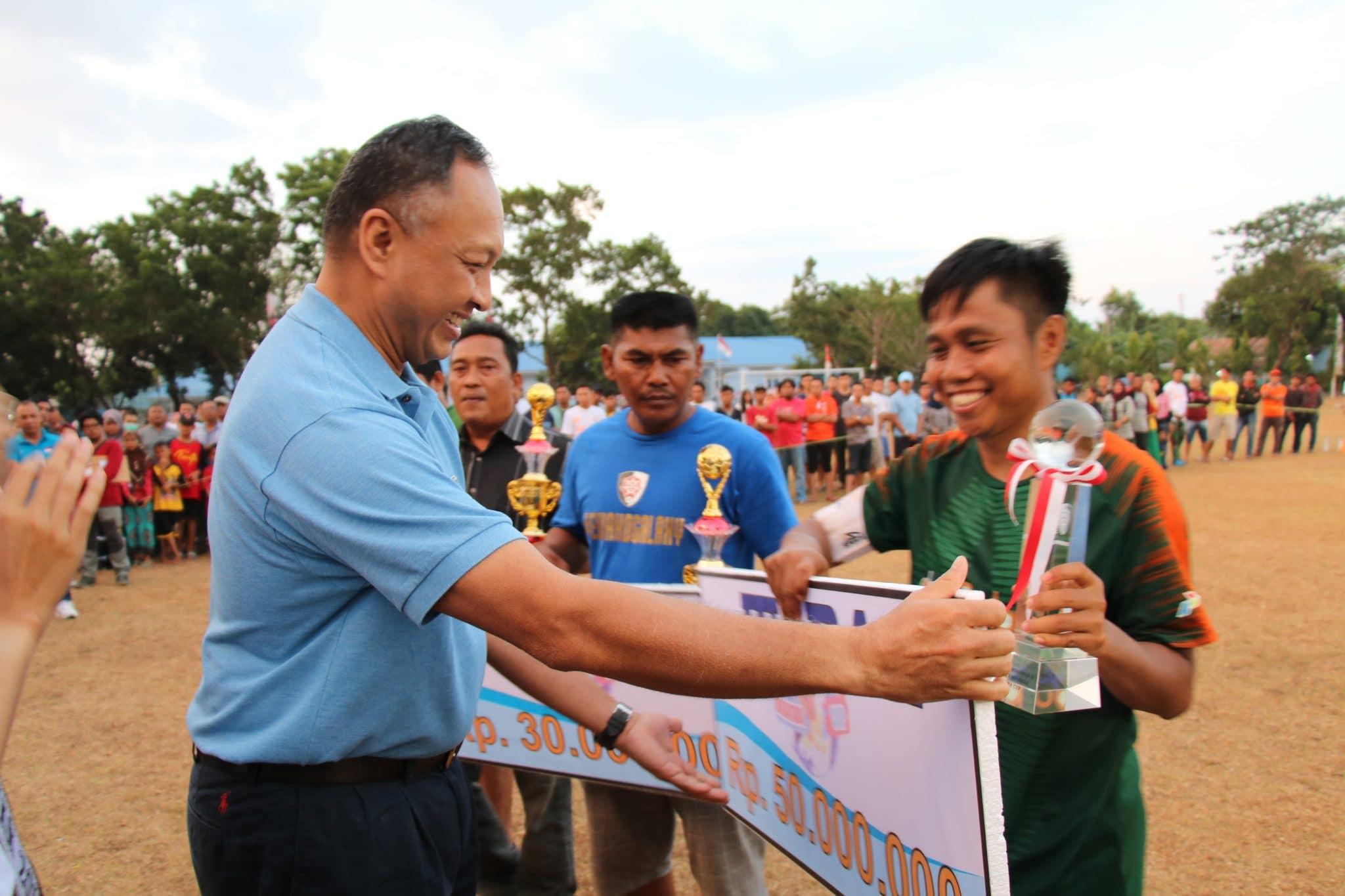 Pangkoopsau II Menutup Turnamen Sepak Bola Dirgantara Cup XXIII