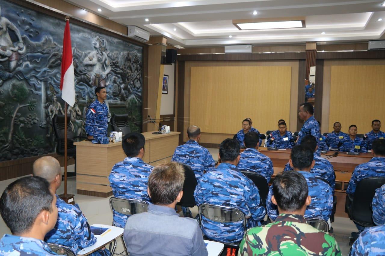 Danlanud Abd Saleh Buka Kursus Lambangja