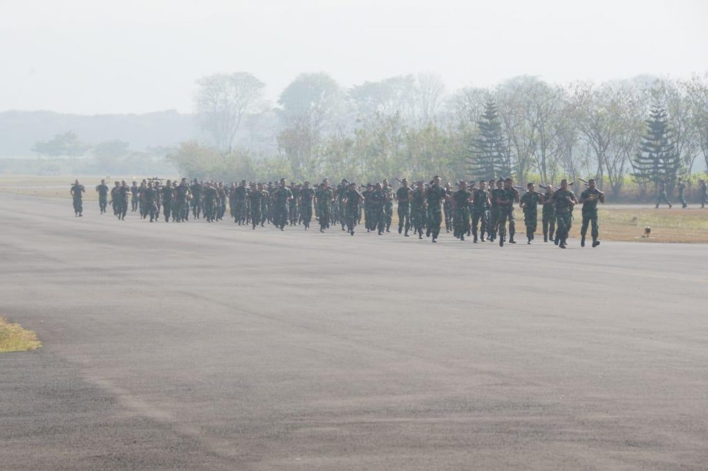 Lanud Abd Saleh Gelar Bulan Militer