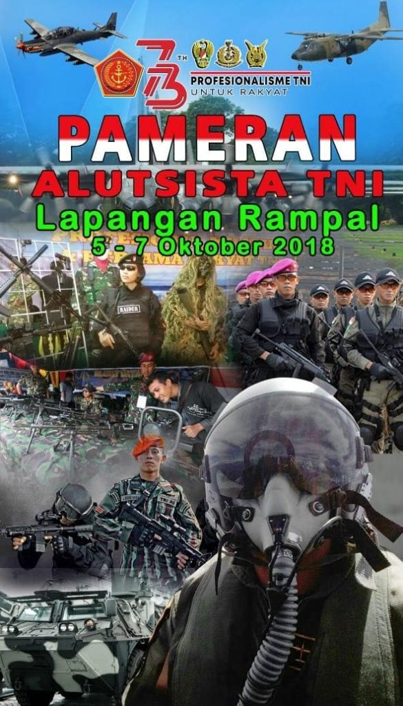 Hadir dan Saksikan, Pameran Alutsista TNI se-Malang Raya