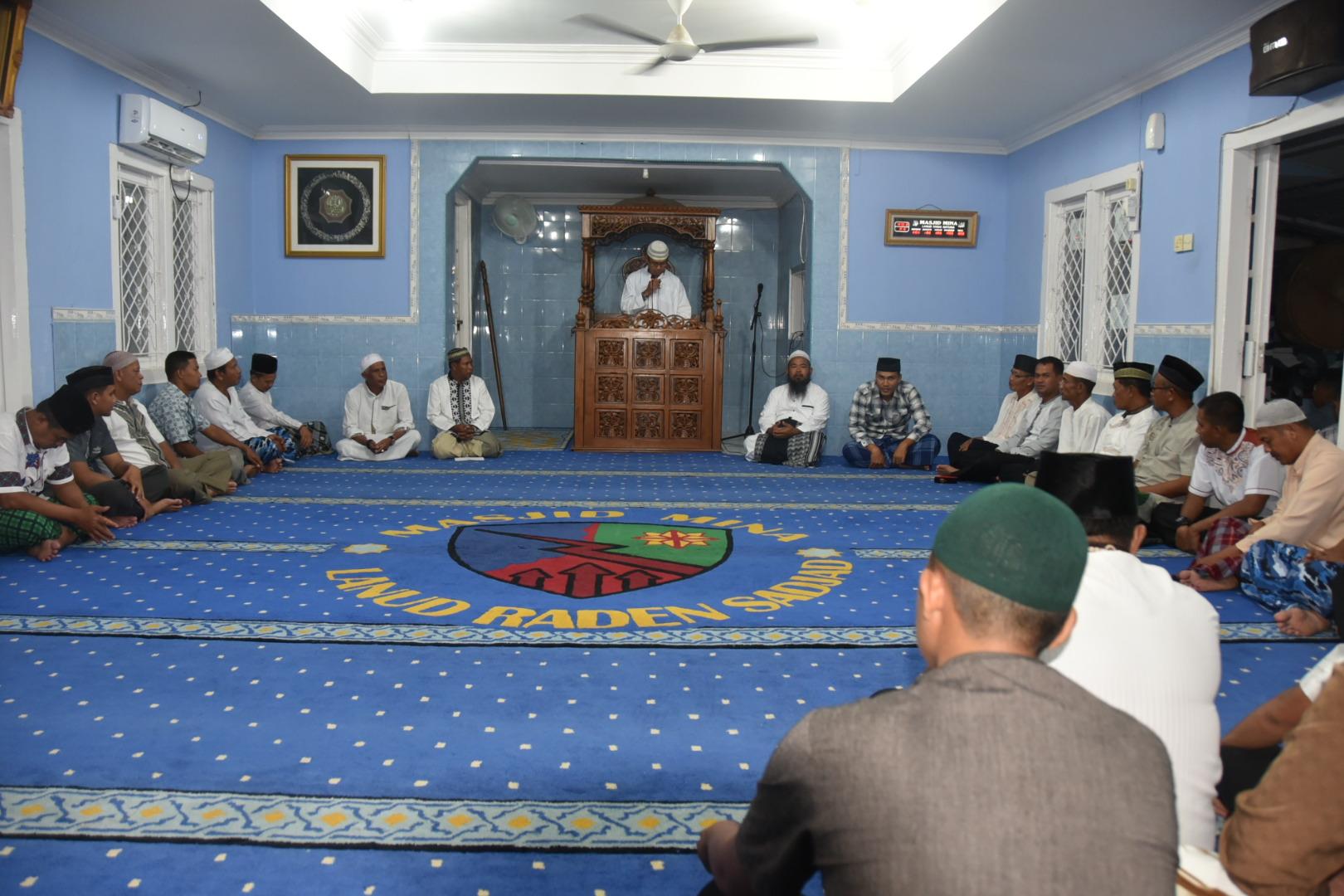 Menyambut Tahun Baru Islam Lanud Raden Sadjad Gelar Doa Akhir Tahun