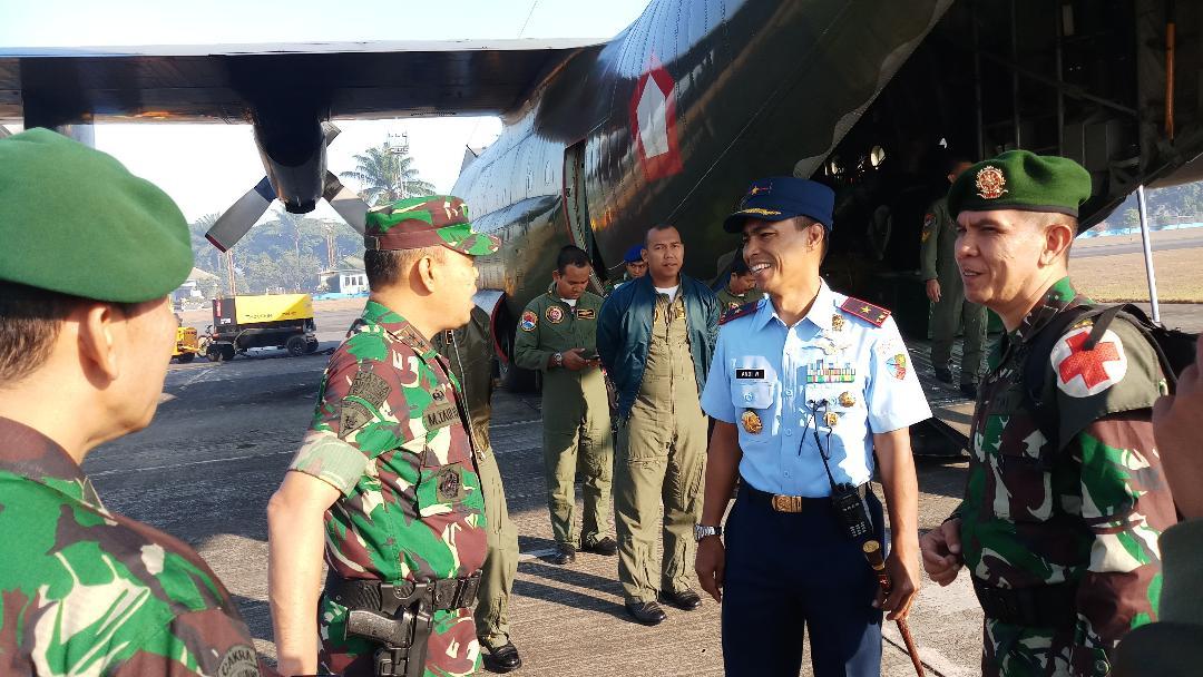 TNI AU Melalui Lanud Abd Saleh, Siap Bantu Korban Gempa Donggala
