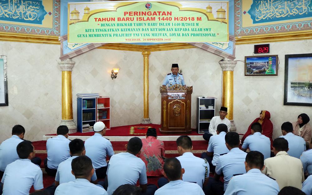 Kosekhanudnas II Peringati Tahun Baru Islam 1440 H/2018 M