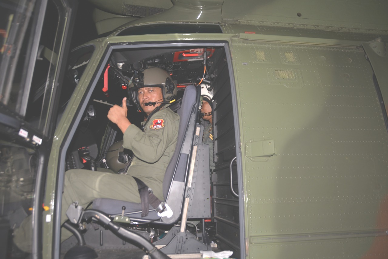 Skadron Udara 6 Latihan Terbang Malam