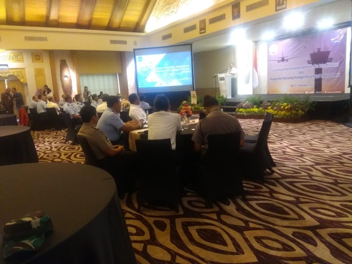 Sosialisasi Perjanjian Kerjasama Kohanudnas Dan Airnav Indonesia