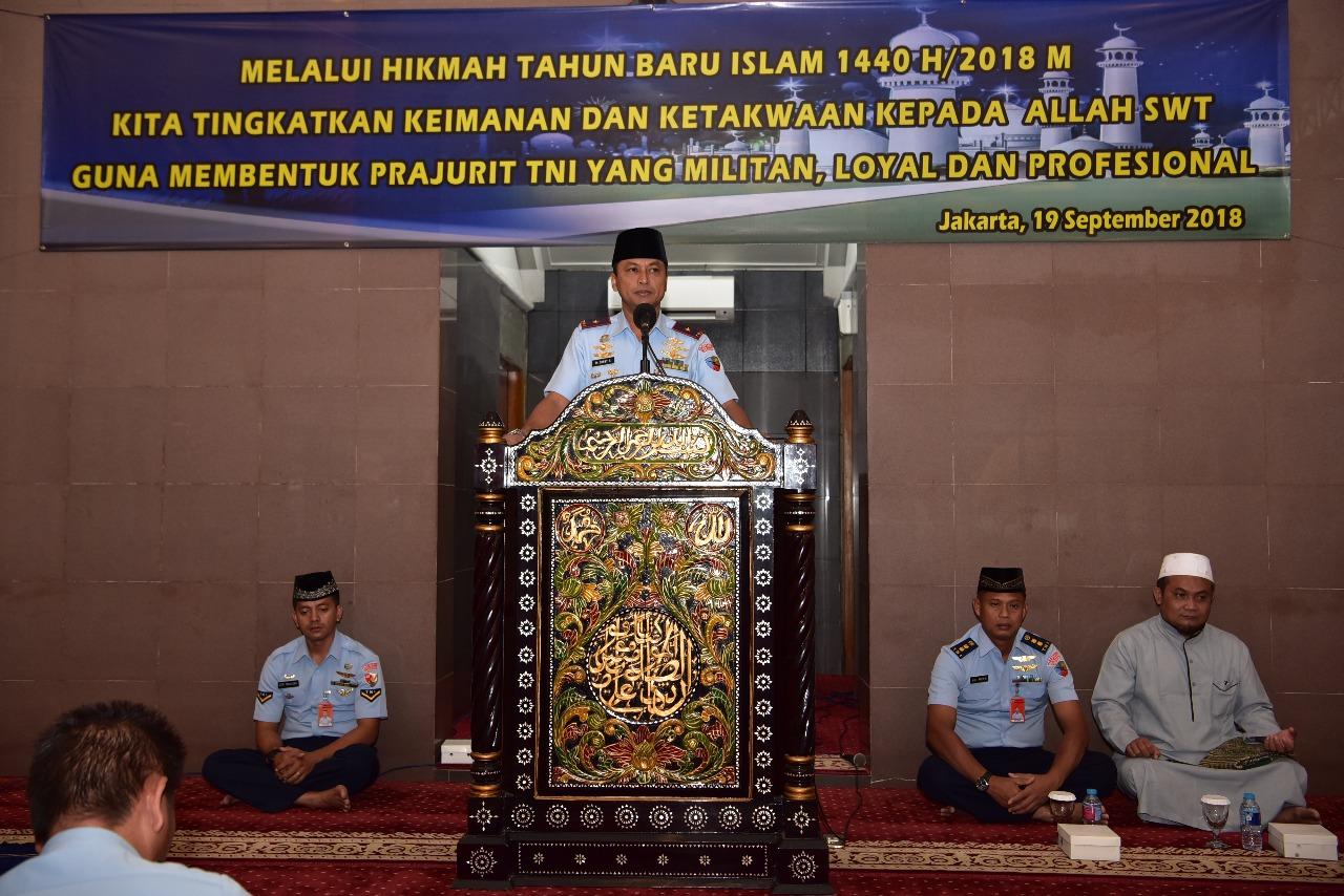 Lanud Halim Perdanakusuma Peringati Tahun Baru Islam 1 Muharrah 1440 H
