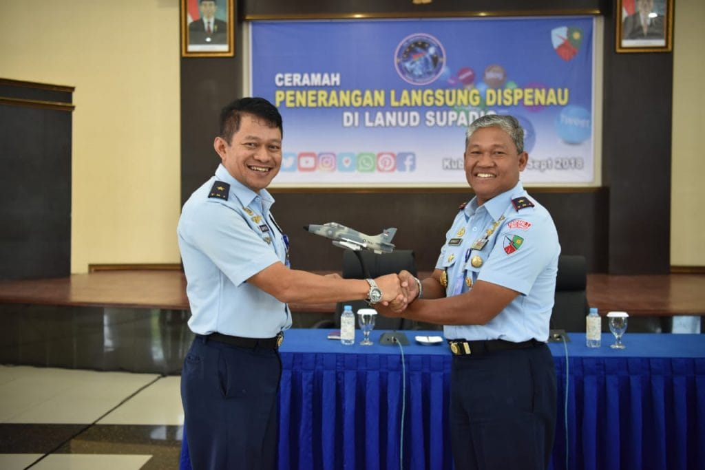 Bangun Citra Positif TNI AU, Kadispenau Bekali Prajurit Lanud Supadio