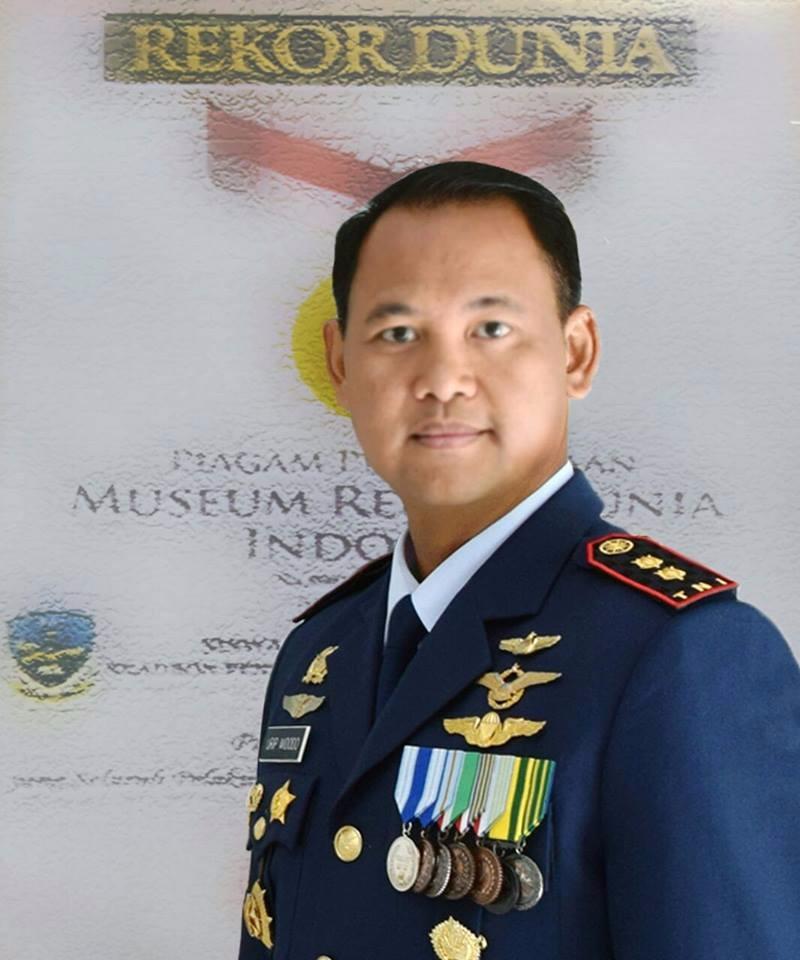 Yang Unik & Menarik, Urip Widodo, Pilot yang Pedalang