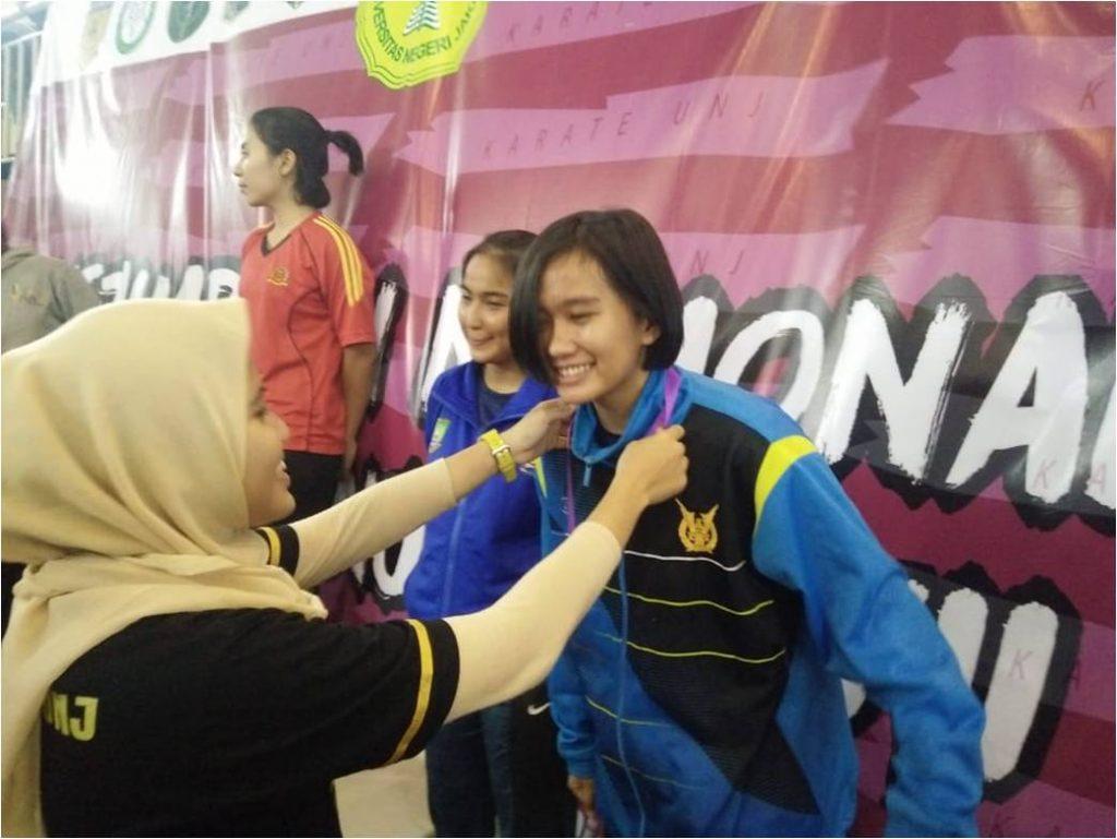Tim Karate TNI AU Ikuti Try Out UNJ Cup VII 2018