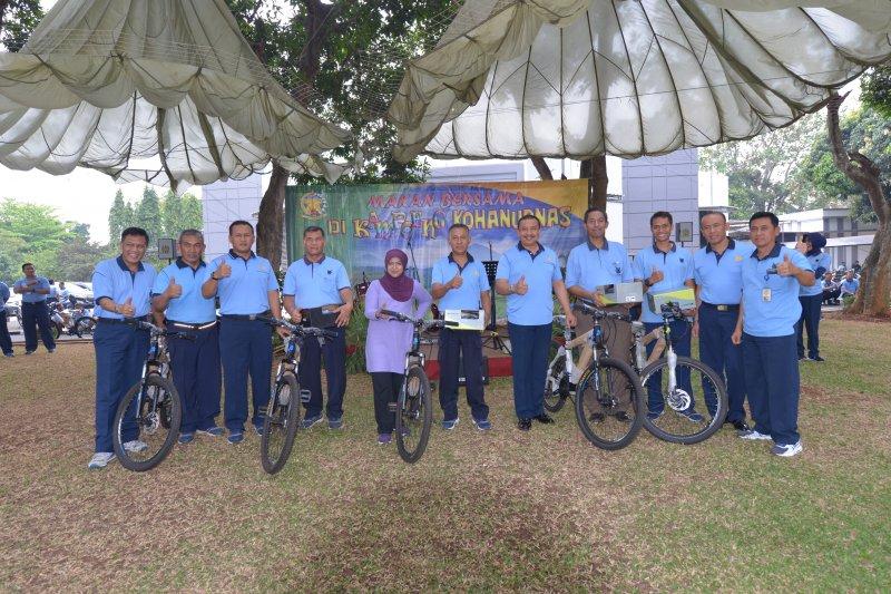Gathering Personel Makohanudnas di Kampung Kohanudnas