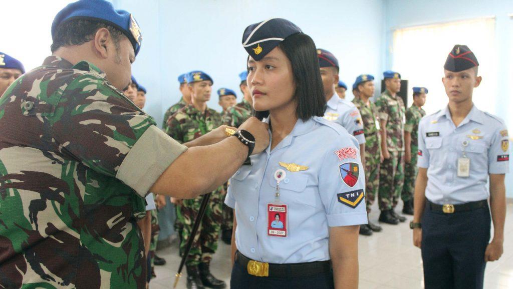 Pengangkatan Tim Karate TNI AU Sebagai Warga Kehormatan POMAU