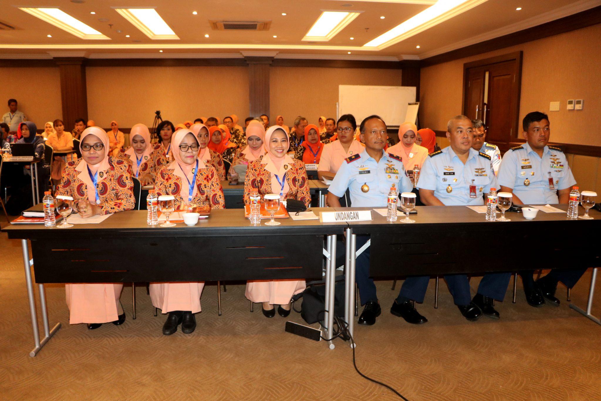 Yasarini Cabang Lanud Adisutjipto Selenggarakan Workshop Peningkatan Mutu Sekolah Angkasa.