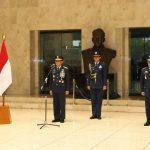 Kasau Sematkan Bintang Swa Bhuwana Paksa Pratama Kepada 6 Pati TNI AU