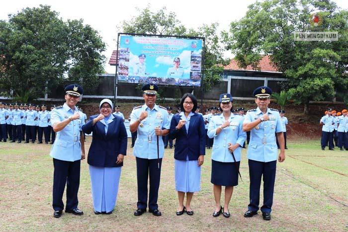Letkol Sus Aprilia Dewi T, S.S Resmi Jabat Danskadik 505 Wingdikum