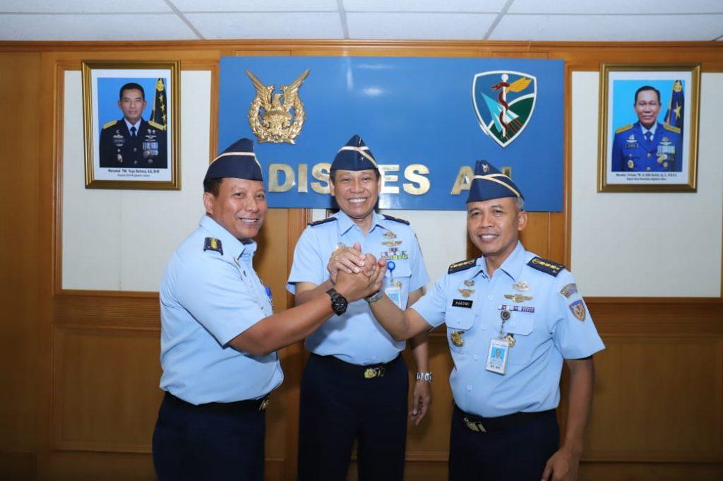 Kolonel Kes dr. Sriharto Jabat Ka RSAU dr. M. Salamun