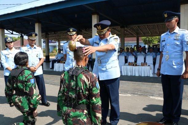 Dirdiklat Kodiklatau Buka Pendidikan 470 Siswa Calon Prajurit Bintara PK TNI AU