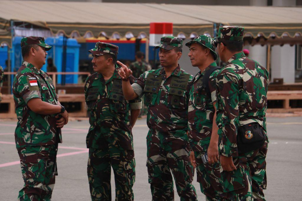 Pangkoopsau III Cek Kesiapan Pelaksanaan HUT Ke 73 TNI di Merauke