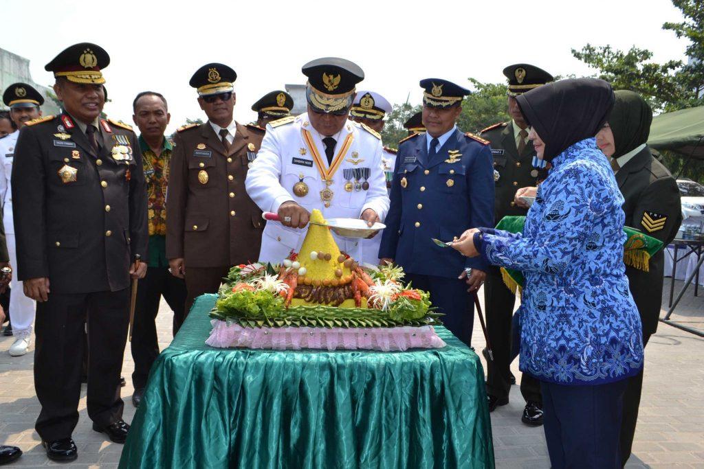 Puncak Peringatan HUT TNI Ke 73 di Wilayah Kalimantan Selatan