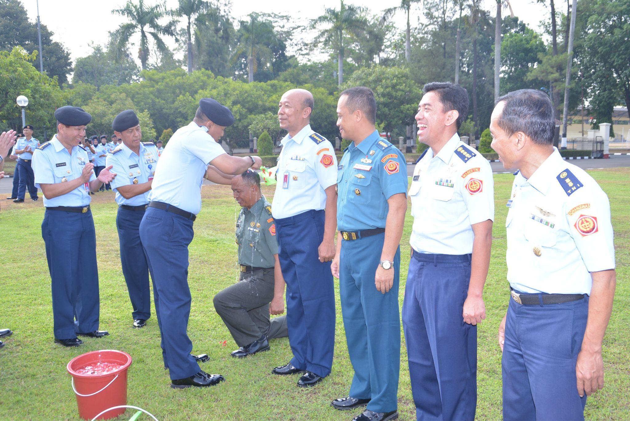 Pelantikan Kenaikan Pangkat 27 Personel Markas Kohanudnas