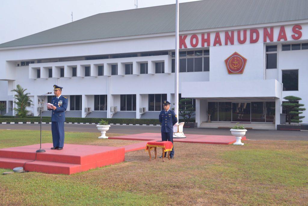Upacara Peringatan HUT TNI ke-73 Tahun 2018 di Makohanudnas