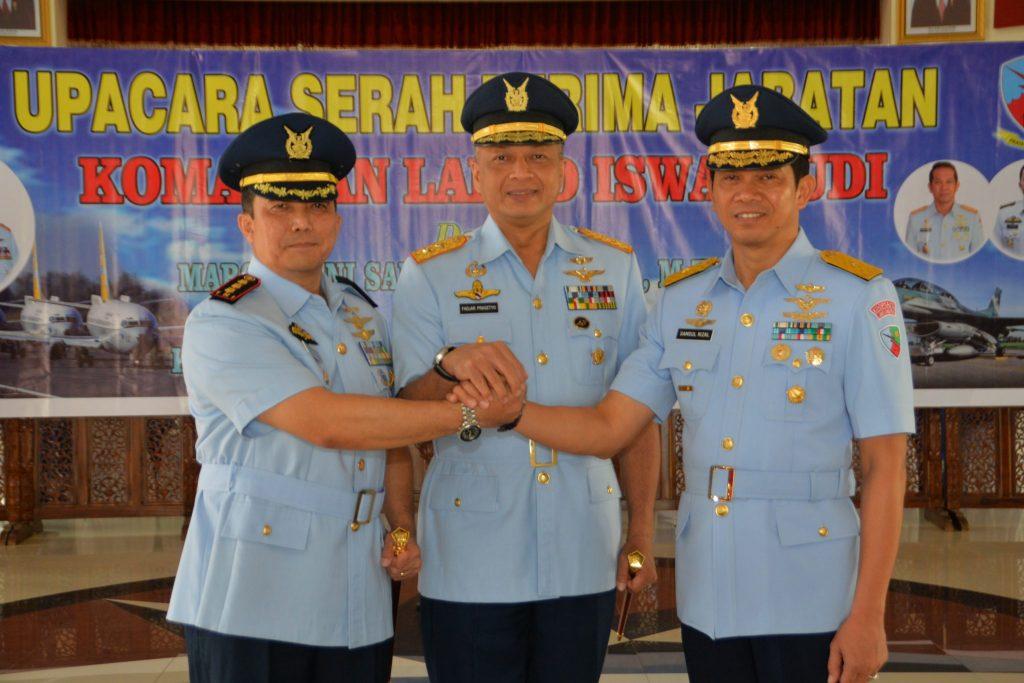 Kolonel Pnb Widyargo Ikoputro Jabat Danlanud Iwj