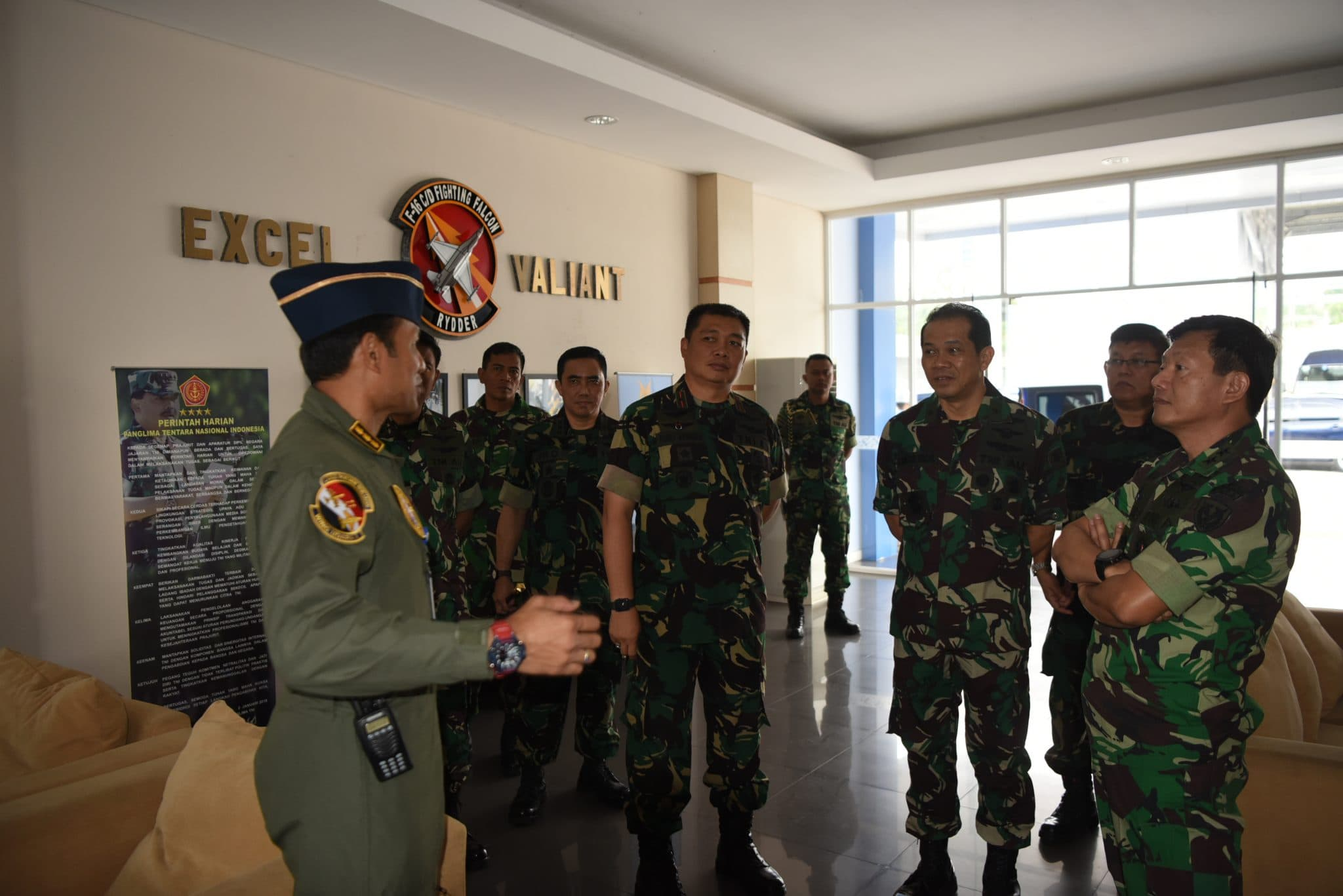 Asops Kasau Tinjau Latihan JFWC di Lanud Roesmin Nurjadin