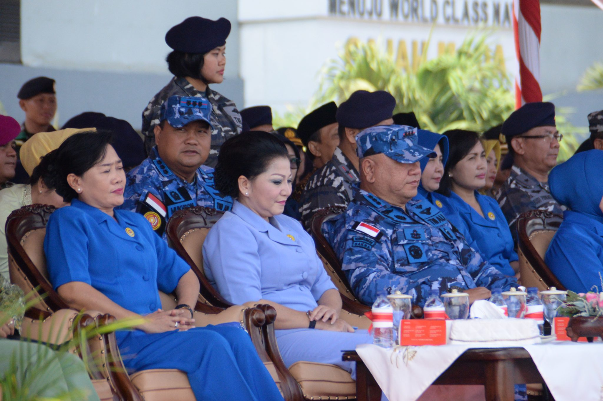 Komandan Pusdiklathanudnas Hadiri Pameran Alutsista di Koarmada II Surabaya