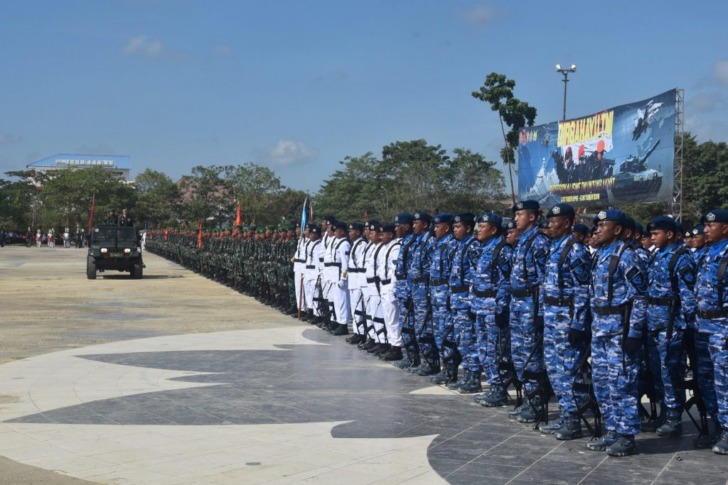 Upacara Peringatan HUT Ke-73 TNI Dipusatkan di MTQ Kendari