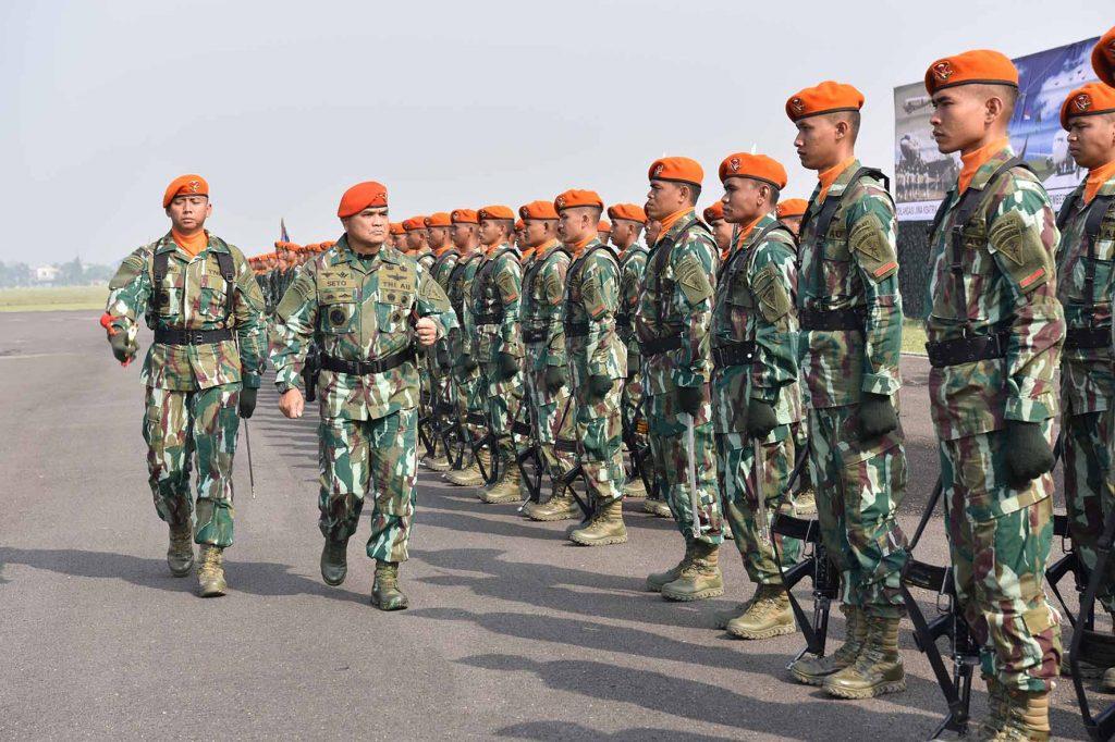 Kasau : Jiwa Kesatria, Militan, Loyal dan Profesional untuk Menjaga Kedaulatan NKRI