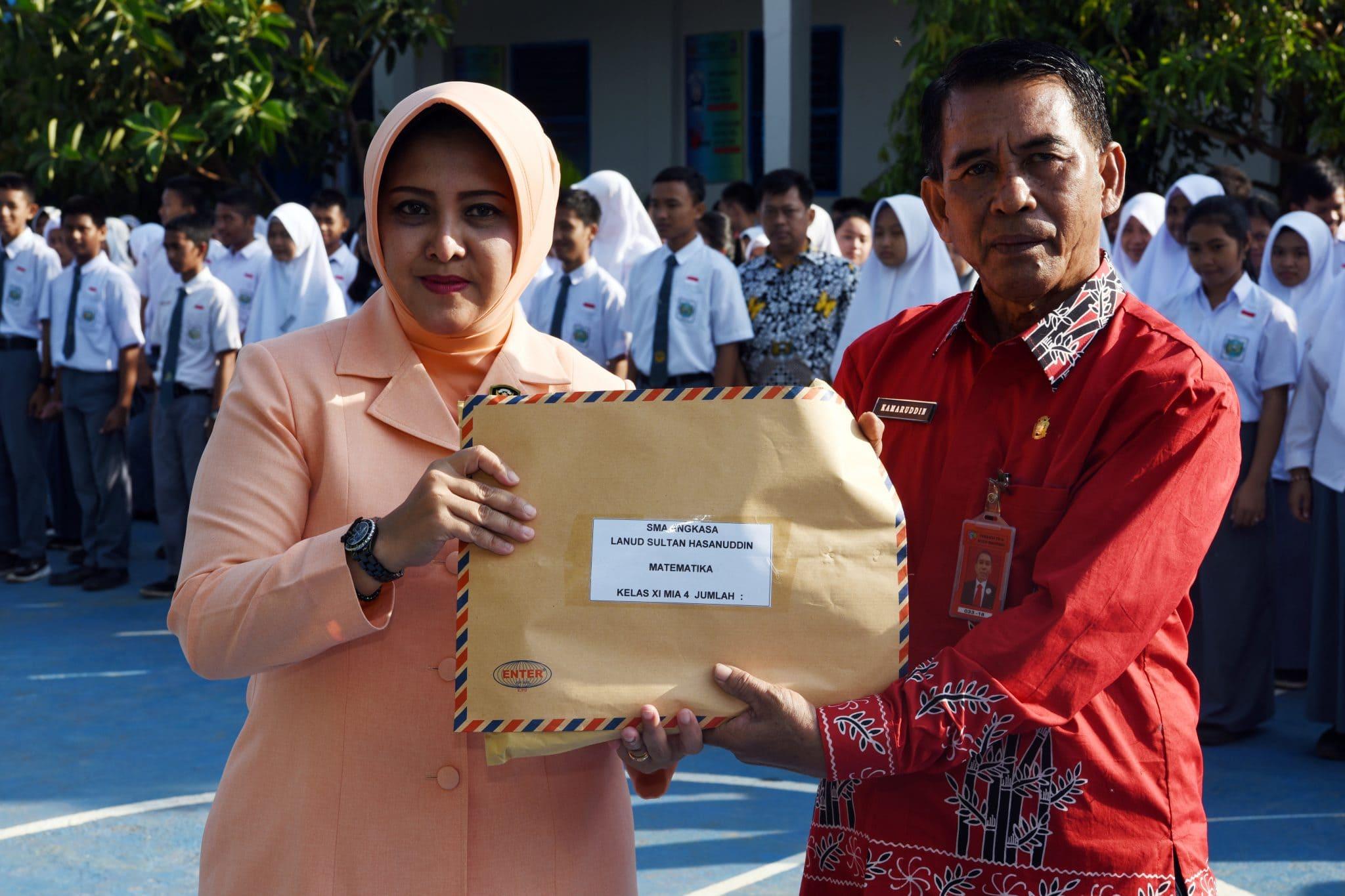 Siswa Sekolah Angkasa Lanud Sultan Hasanuddin Siap Bersaing AMSO 2018