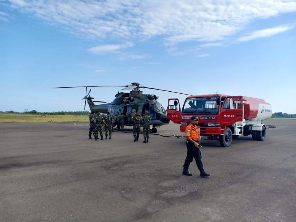 Lanud Atang Sendjaja Kirim Tiga Helikopter Bantu Gempa Bumi Palu Dan Donggala