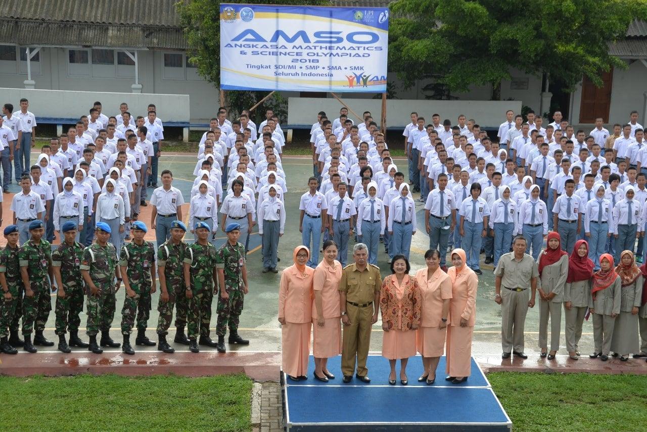 AMSO, Sarana Meningkatkan Mutu Dan Kualitas Pendidikan Sekolah Angkasa