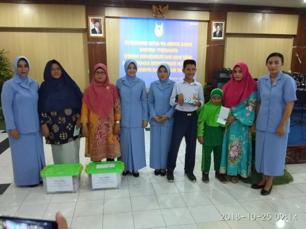 PIA Ardhya Garini Bakorda Yogyakarta Silaturahmi dengan Warakawuri