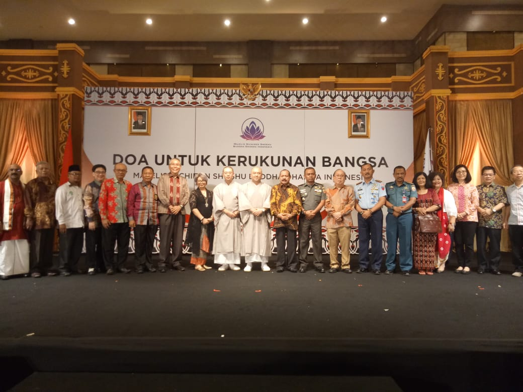 Danlanud Soewondo Hadiri Acara Doa Bersama Untuk Kerukunan Bangsa