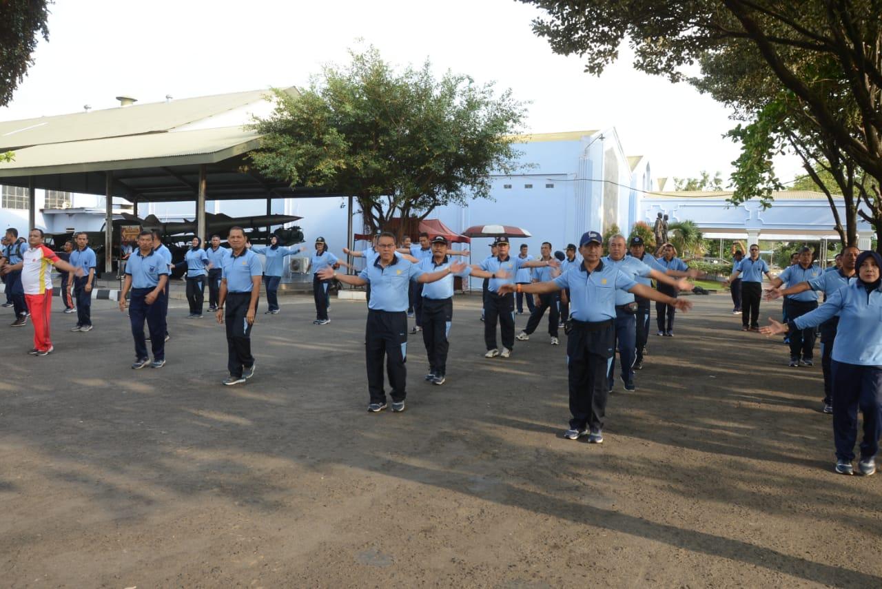Olahraga Antar Satuan TNI AU di Yogyakarta Digelar di Muspusdirla