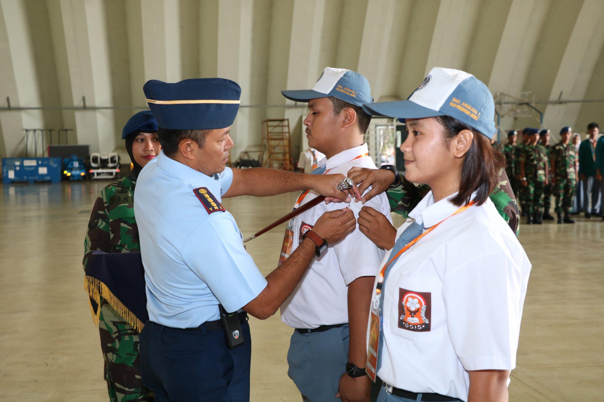 Danwing Udara 1 Lanud Halim Perdanakusuma Buka LDKPD SMA Angkasa 1