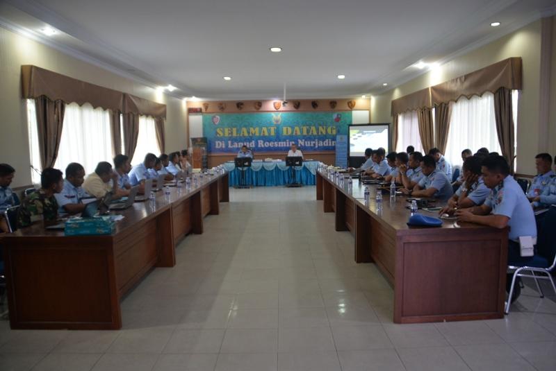 Kunjungan Kerja BPK RI di Lanud Roesmin Nurjadin