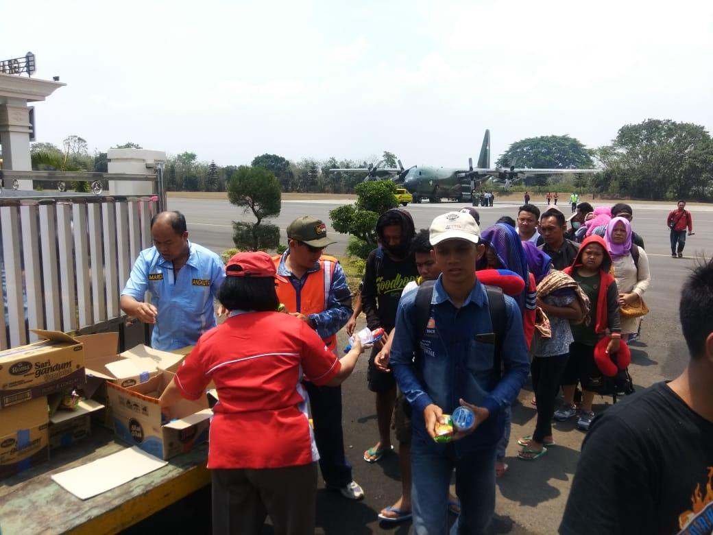 130 Korban Bencana Palu Tiba di Malang